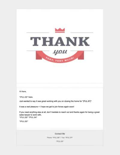 Thank You | MLO to Sales Lawyer
